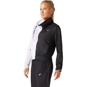 asics SMSB Run Jacket Women performance black/brilliant white